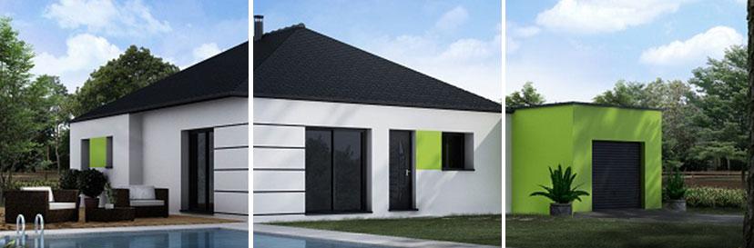 Construction de maisons individuelles axce s habitat for Construction maison plain pied prix
