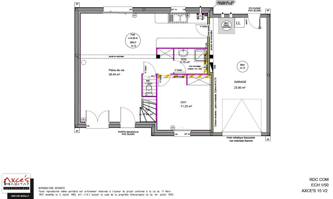 axce 39 s 15v2 axce 39 s habitat constructeur de maison en bretagne. Black Bedroom Furniture Sets. Home Design Ideas